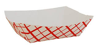Nacho Tray, Paper 1#- 250/Pack