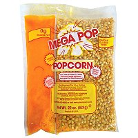8oz. Mega Pop Corn/Oil/Salt Kit- 24/Case