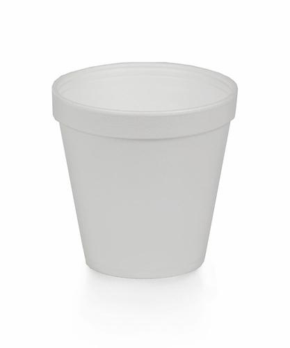 16oz. Styrofoam Squat Cup- 500/Case