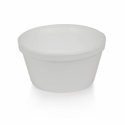 8oz. Styrofoam Squat Cup- 1000/Case