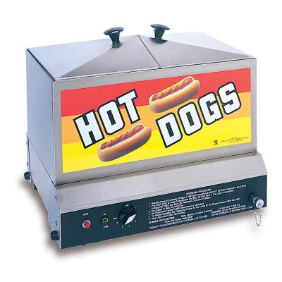 Standard Hot Dog Steamer Rental