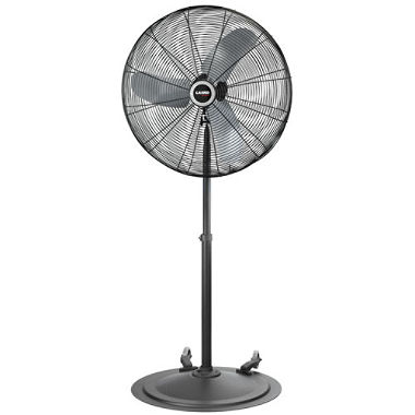 Black Pedestal Fan