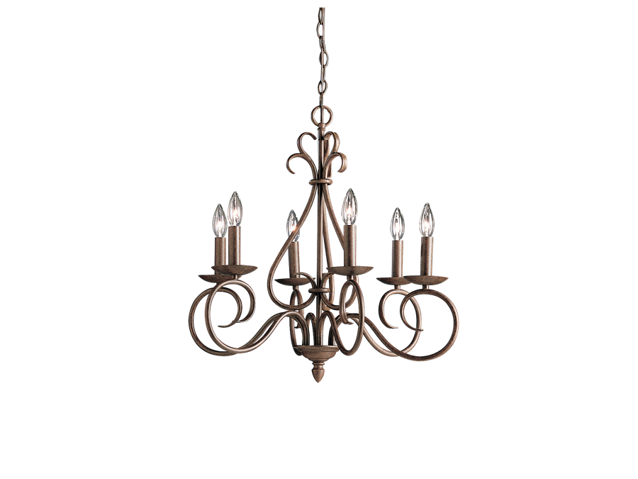 Bronze Chandelier Rental