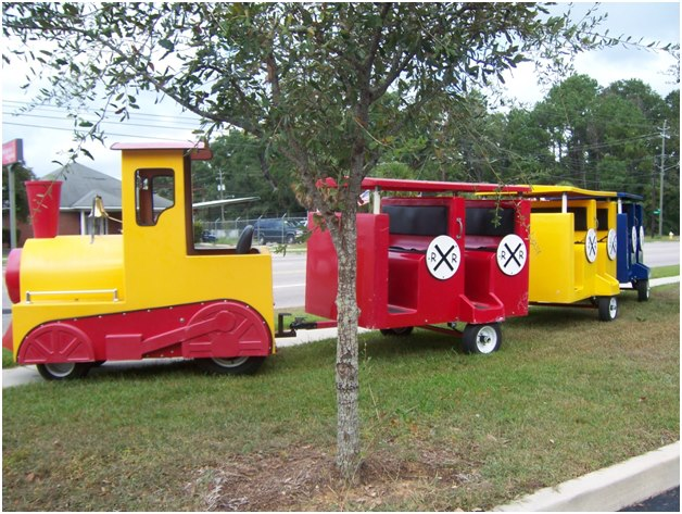 Trackless Train Ride Rental