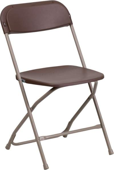 Brown Folding Chair Rental