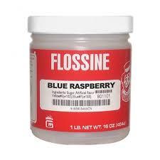 Flossine, Blue Raspberry
