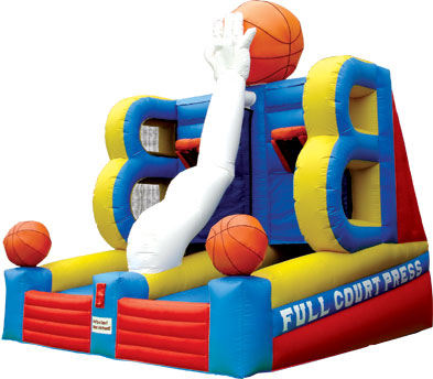 Full Court Press Basketball Rental