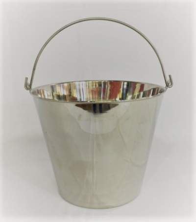 Silver Beverage Bucket Rental