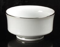 Platinum Rim Bowl Rental