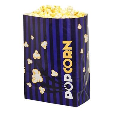 Laminated Popcorn Bag, 170oz. Purple- 500/Case