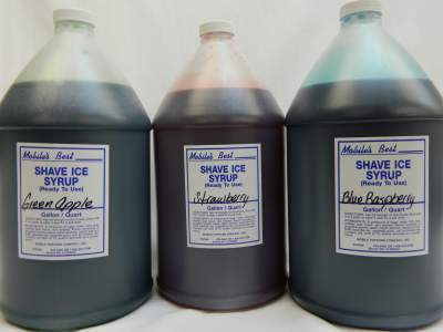 Snocone Syrup- Gallon