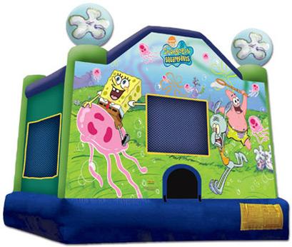 Sponge Bob Jumper Rental