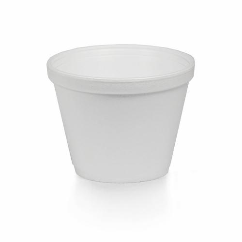 12oz. Styrofoam Squat Cup- 500/Case
