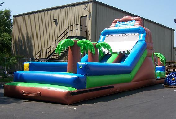 45 Ft. XTreme Obstacle Course Middle Rental