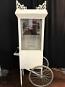 White 8oz Popcorn Machine with Cart