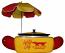 Small Hot Dog Steamer W/ Umbrella Rental