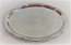 Oval Silver Ornate Serving Platter Rental