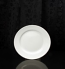 "White Round 8.25"" Salad Plate Rental (20/Rack)"