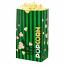 Laminated Popcorn Bag, 130oz. Green- 500/Case