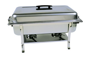 Black Handle Silver Chafer Rental