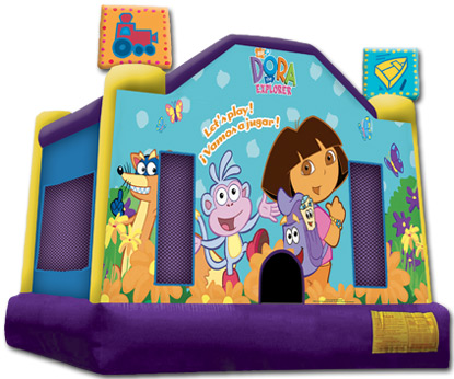 Dora The Explorer Jumper Rental