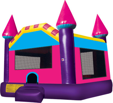 Pink & Purple Dream Castle Rental