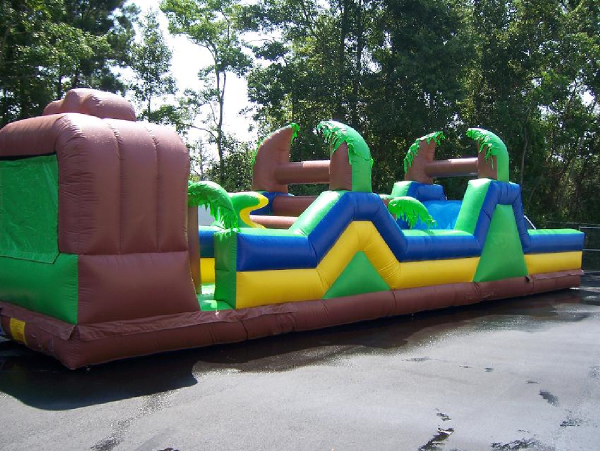 45 Ft. XTreme Obstacle Course (Side 1) Rental