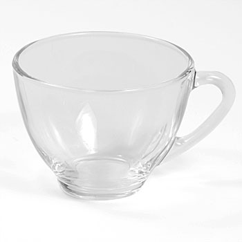 Clear Glass Punch Cup Rental (20/Rack)