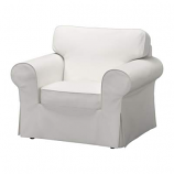White Cloth Side Chair Rental