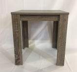 Grey Reclaimed Finish Wood Side Table