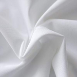 8' White Poly Drape Rental