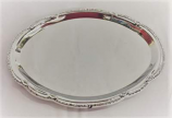 Silver Ornate Serving Platter Rental