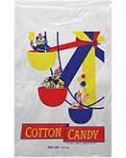 Printed Cotton Candy Bag- 100/Pack