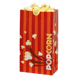 Laminated Popcorn Bag, 46oz. Orange- 1000/Case