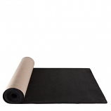 5' x 20' Black Carpet Rental
