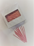 Striped Twist Tie
