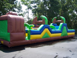 45 Ft. XTreme Obstacle Course (Side 2) Rental