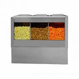 Main Street Popcorn Crisper/Staging Cabinet