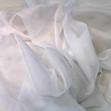 12' White Sheer Drape Rental