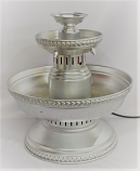5 Gallon Silver Matte Punch Fountain Rental