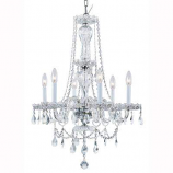 Classic Crystal Chandelier Rental