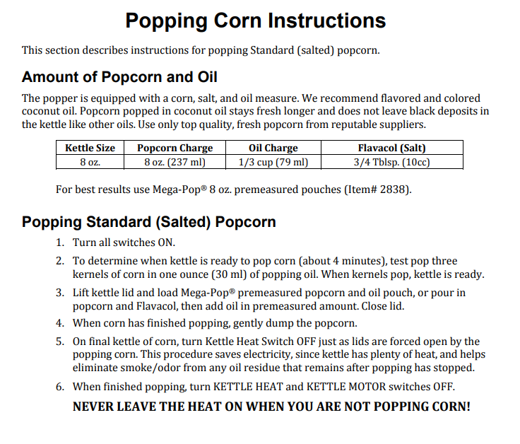 Mobile Popcorn And Party Rentals