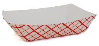 Nacho Tray, Paper 2#- 250/Pack