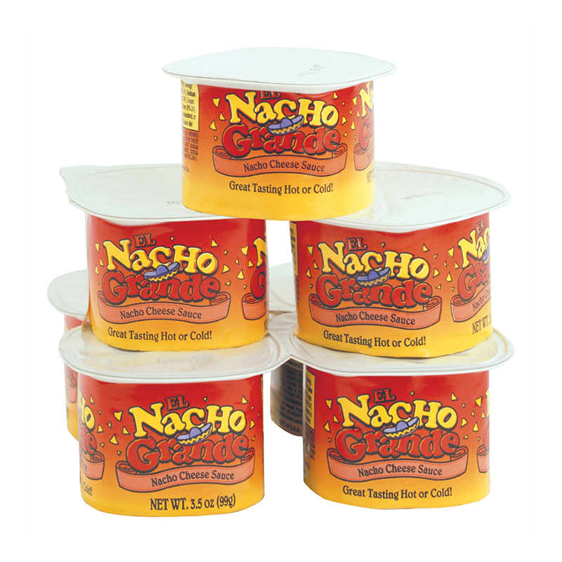 El Nacho Grande Portion Pak Cheese, 3.5oz- 48/Case