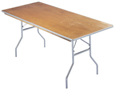 8 Ft. Banquet Table Rental