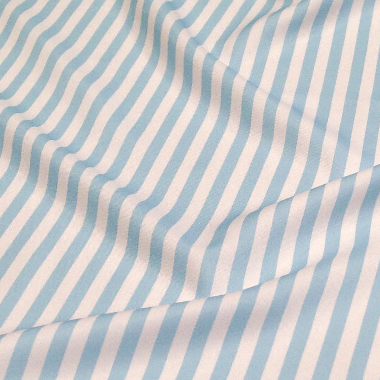 "132"" Light Blue Seersucker Linen Rental"