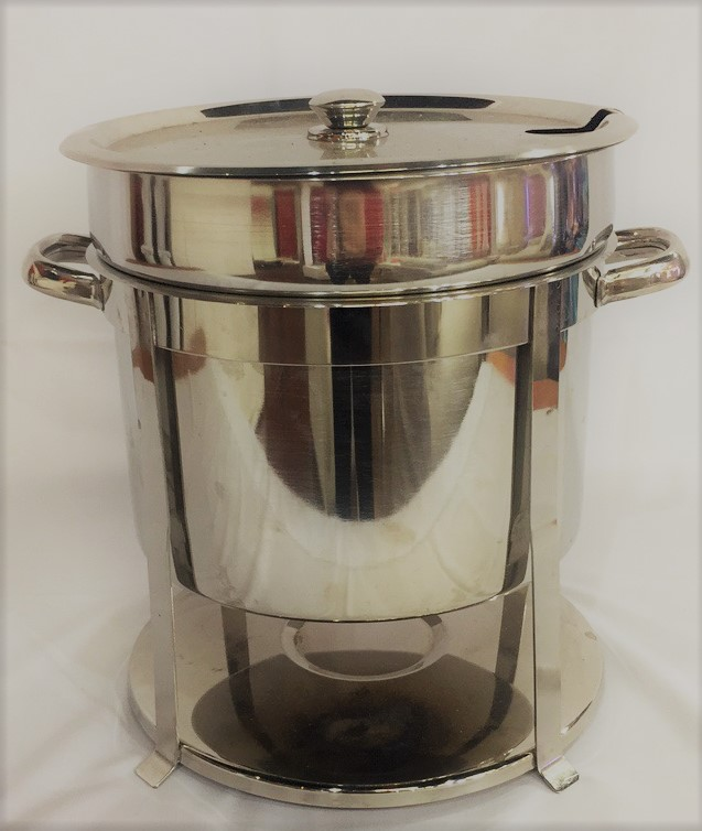 Silver Soup Chafer Rental
