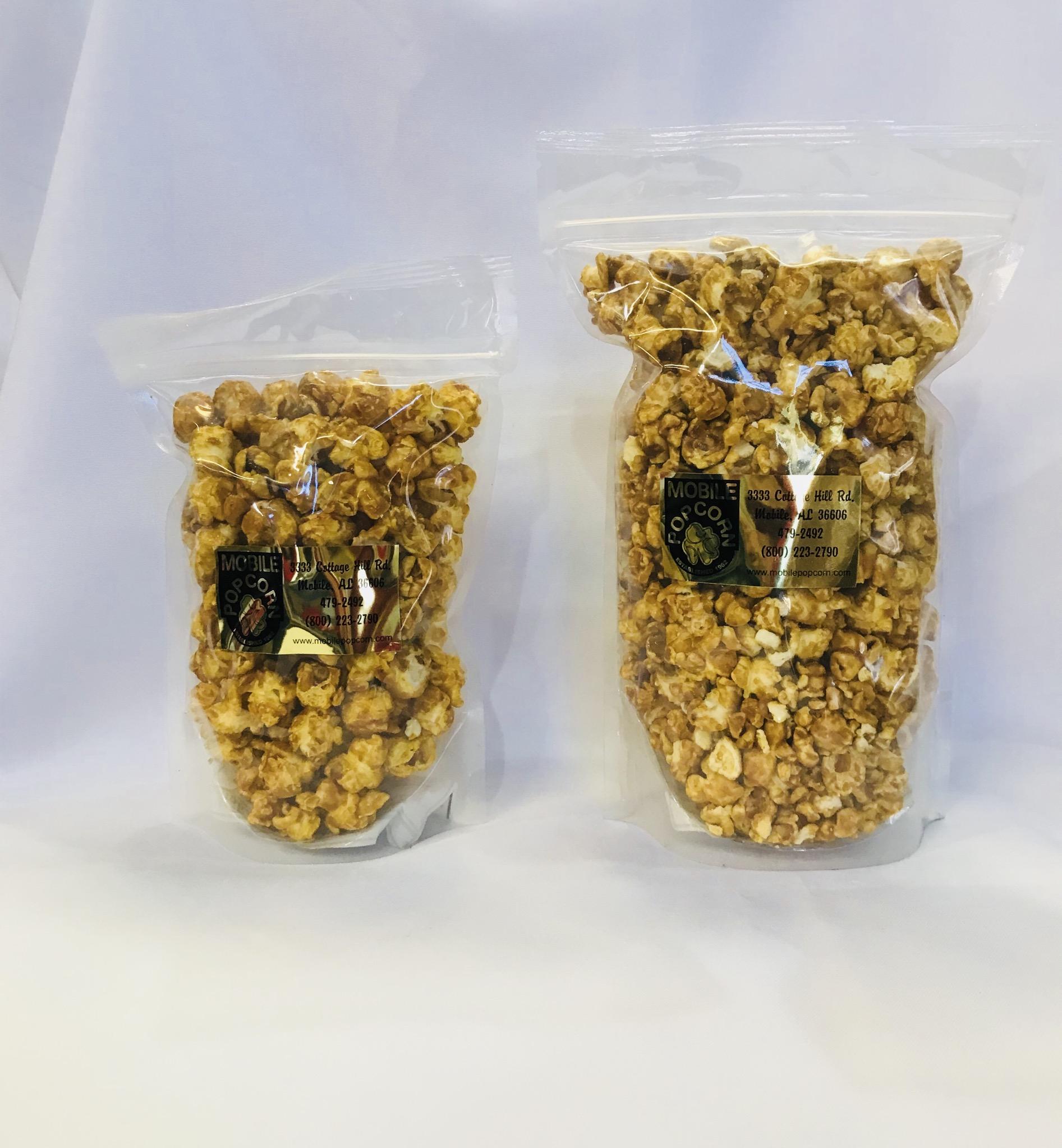 Caramel Corn- Cellophane Bag