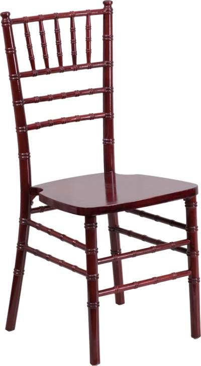 Mahogany Chiavari Chair Rental