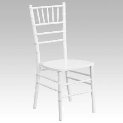 White Chiavari Chair Rental